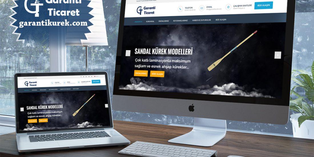 Biga Garanti Kürek Web Sitesi