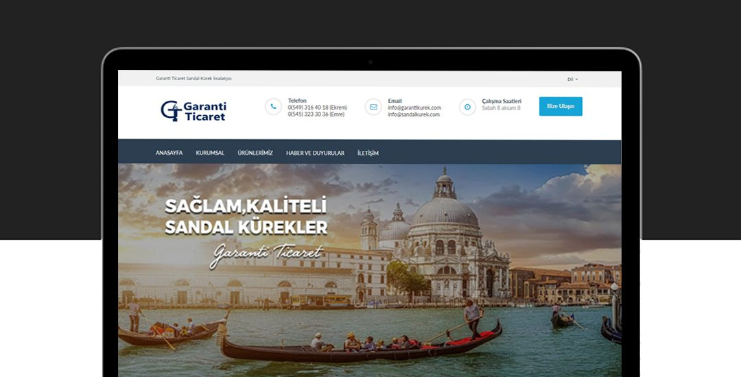 Garanti Kürek Web Sitesi