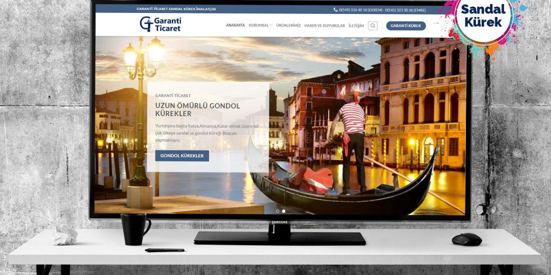 Sandal Kürek web sitesi