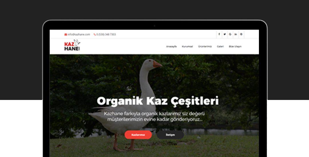 kazhane web site tasarımı