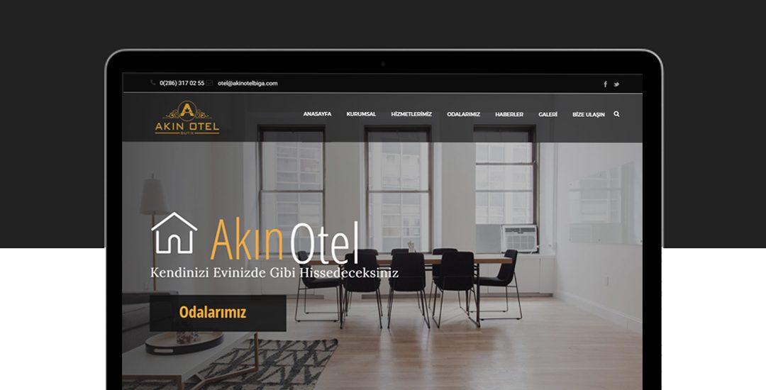 Biga Akın Otel Web Sitesi