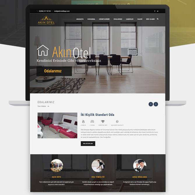 Çanakkale Web Tasarım Akın Hotel