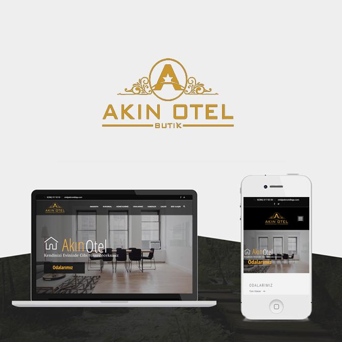 akın hotel biga web site