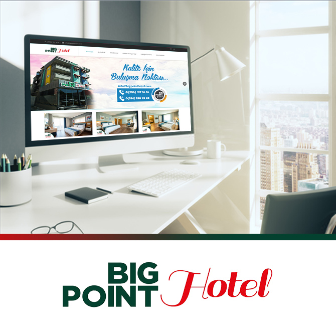 Big point hotel web sitesi