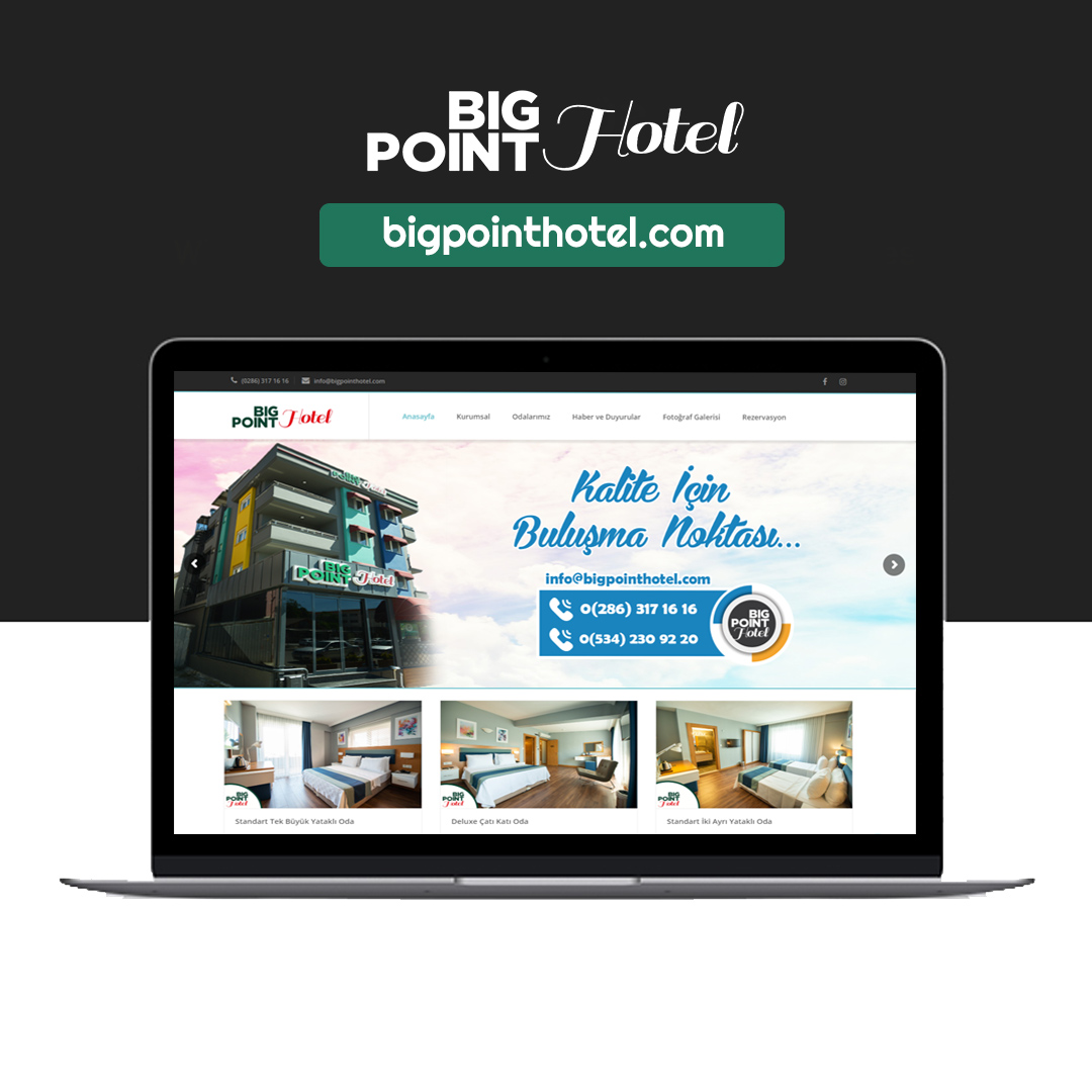 Big Point Hotel Web Sitesi