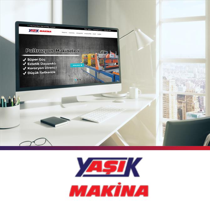 Yaşık Makine internet sitesi