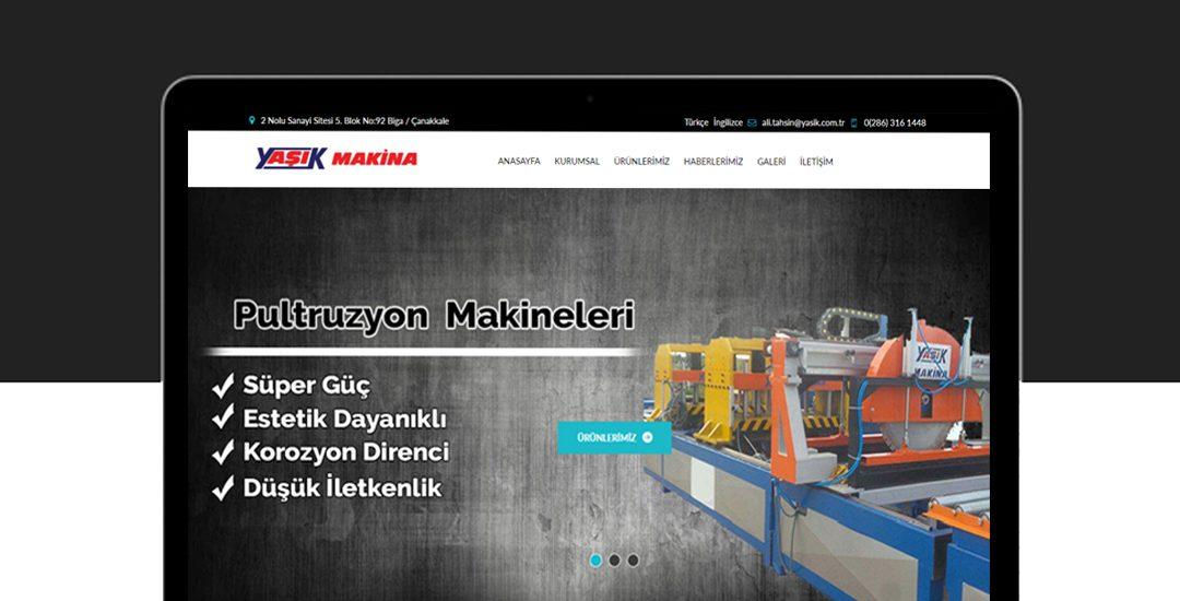 Yaşık makine web sitesi