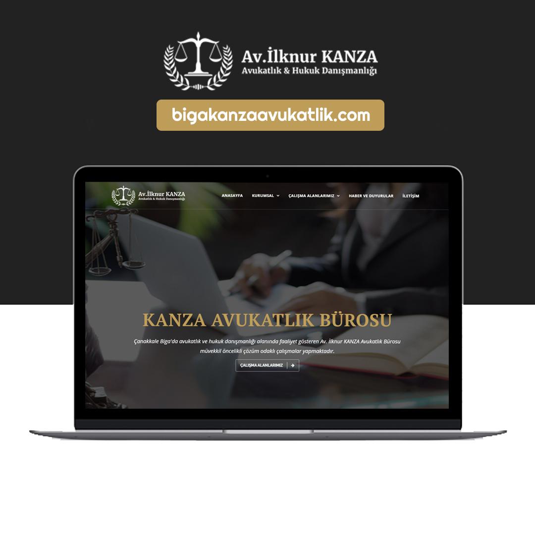 Biga kanza avukatlık web sitesi
