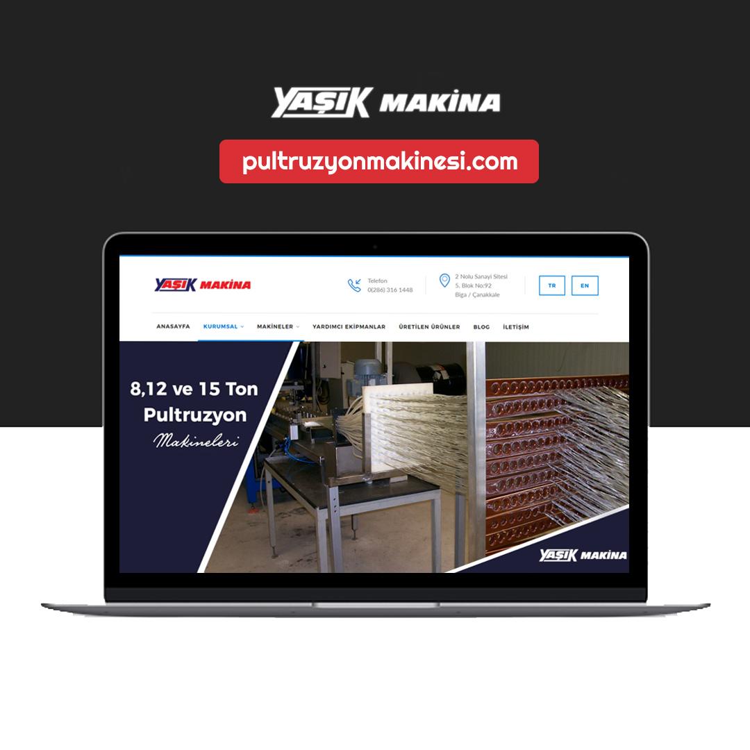pultruzyon makinesi web sitesi